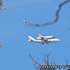 Space Shuttle fly over :